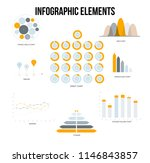business info visualisation... | Shutterstock .eps vector #1146843857