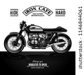 vintage motorcycle poster   Shutterstock .eps vector #1146844061