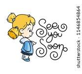 sea you soon. cutest kid in...   Shutterstock .eps vector #1146854864