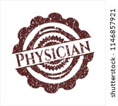 red physician rubber grunge... | Shutterstock .eps vector #1146857921