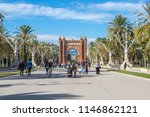 barcelona  spain   october 22 ... | Shutterstock . vector #1146862121