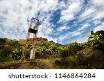 Overhead Power Line On Lipari ...