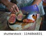 black ear catfish sale at local ...   Shutterstock . vector #1146866831