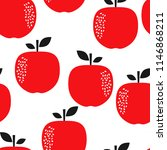 seamless repeating pattern with ... | Shutterstock .eps vector #1146868211