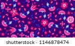 seamless ditsy floral pattern | Shutterstock .eps vector #1146878474