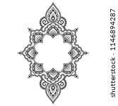 circular pattern in form of... | Shutterstock .eps vector #1146894287