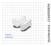 isometric outline 3d text.... | Shutterstock .eps vector #1146900854
