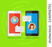 illustration concept of online ... | Shutterstock . vector #1146906701