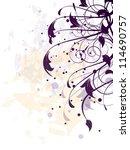 abstract ornamental vintage ... | Shutterstock .eps vector #114690757