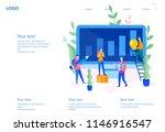 vector flat illustration for... | Shutterstock .eps vector #1146916547