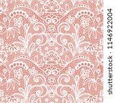 gentle lace seamless pattern...   Shutterstock .eps vector #1146922004