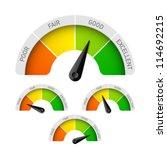 poor  fair  good  excellent  ... | Shutterstock .eps vector #114692215