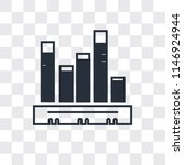 stats vector icon isolated on... | Shutterstock .eps vector #1146924944