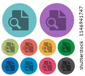 preview darker flat icons on... | Shutterstock .eps vector #1146941747