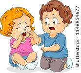 illustration of a kid boy... | Shutterstock .eps vector #1146954677
