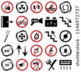 set of 25 icons such as air...