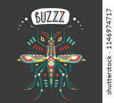 vector hand drawn illustration... | Shutterstock .eps vector #1146974717