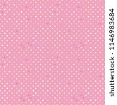 trendy pattern polka dot.... | Shutterstock .eps vector #1146983684