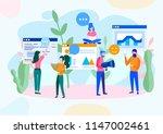 vector illustration  flat style ... | Shutterstock .eps vector #1147002461