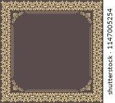 classic vector square frame...   Shutterstock .eps vector #1147005254