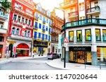 karlovy vary  czech republic  ... | Shutterstock . vector #1147020644