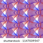 vector seamless pattern in... | Shutterstock .eps vector #1147039547