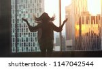silhouette of young woman...   Shutterstock . vector #1147042544
