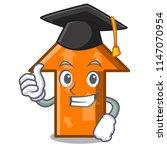 graduation arrow character...   Shutterstock .eps vector #1147070954