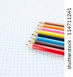 color pencils | Shutterstock . vector #114711241