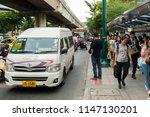 bangkok thailand   july 26 2018 ... | Shutterstock . vector #1147130201