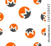 monero cryptocurrency coin sign ...   Shutterstock .eps vector #1147135517