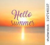 blurred background of seaside...   Shutterstock . vector #1147140137