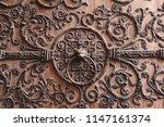 Decorative Lion Head Door...