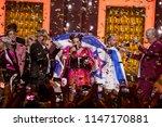 lisbon  portugal   may 12 2018  ... | Shutterstock . vector #1147170881
