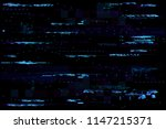 abstract glitch background | Shutterstock .eps vector #1147215371