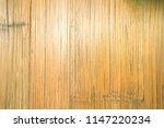 bamboo flooring in light yellow ... | Shutterstock . vector #1147220234