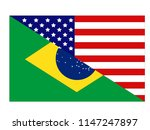 vector illustration of american ... | Shutterstock .eps vector #1147247897