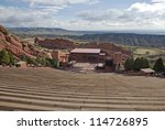Red Rocks Amphitheater With...
