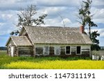 an image of an old abandoned... | Shutterstock . vector #1147311191