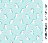 beautiful seamless pattern with ... | Shutterstock .eps vector #1147343204