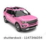 Candy Pink Big Modern Suv Car ...