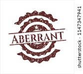 red aberrant distressed rubber...   Shutterstock .eps vector #1147347941