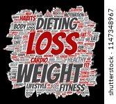 vector conceptual weight loss... | Shutterstock .eps vector #1147348967