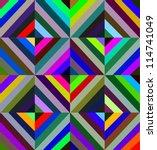 geometric seamless pattern made ... | Shutterstock .eps vector #114741049