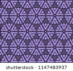 seamless pattern with... | Shutterstock . vector #1147483937