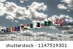 g20 summit flag silk waving... | Shutterstock . vector #1147519301