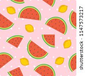 fruit seamless pattern... | Shutterstock .eps vector #1147573217