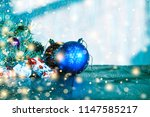 christmas. new year. new year's ... | Shutterstock . vector #1147585217