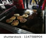 a variety of roti canai with... | Shutterstock . vector #1147588904