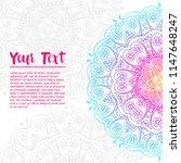 vintage circular pattern of... | Shutterstock .eps vector #1147648247